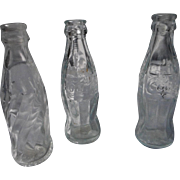 Vintage Miniature Glass Soda Bottles
