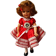 Vintage Vinyl Ideal Shirley Temple 1950's