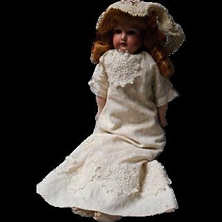 19 Inch Antique Bisque Doll 370
