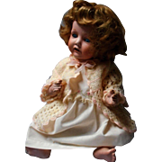 Large Antique Bisque Baby Doll marked with Diamond,RE