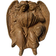 Vintage Heavy Fount with Angels,