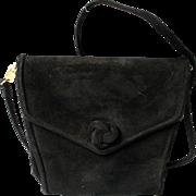 Vintage Suede Retro Handbag, Maryann Rosenfeld