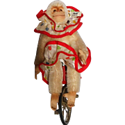 Steiff Chimp on Unicycle Limited Edition