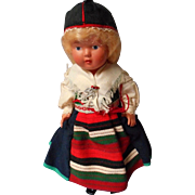 Vintage All Original German Celluloid Doll