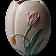 Vintage Weller Tulip Flower Vase, 1930's