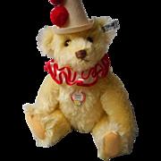 """Vintage Steiff """"Teddy-Clown"""" Limited Edition Bear"""