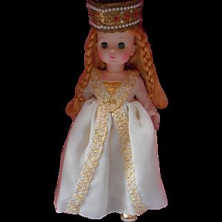 """Vintage Madame Alexander """"Isolde"""" Doll,"""