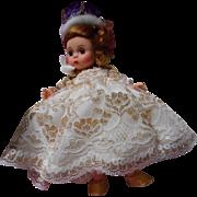 Vintage 8 inch Madame Alexander Queen Elizabeth the ll Coronation