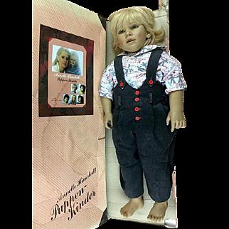 Vintage Annette Himstedt Doll, Kasimir