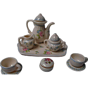 Vintage Miniature Child's Tea Set