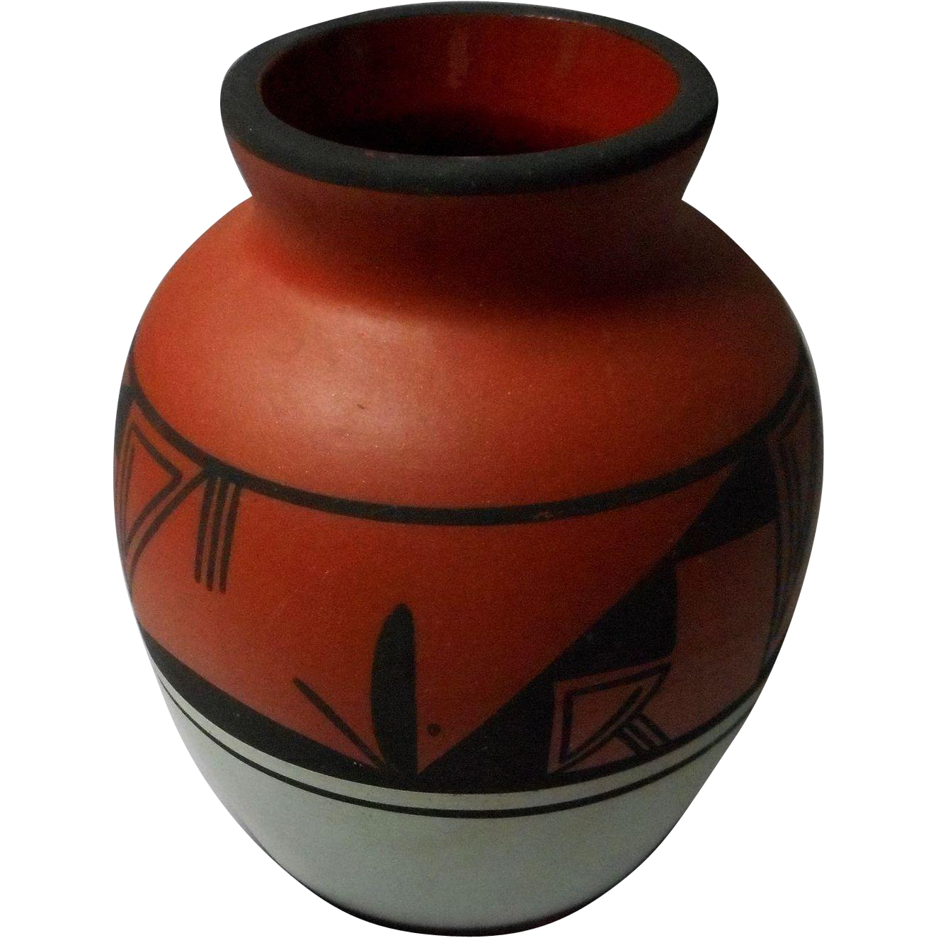Signed Native American Pottery Vase From Eleanorslegacy On