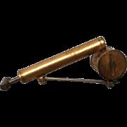 Vintage Miniature Metal Bug Sprayer Brooch