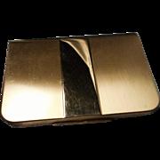 Vintage Gold Tone Lenthéric Compact