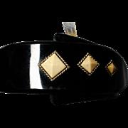 Black And White Celluloid Bracelet