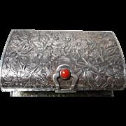 Vintage 800 Silver Compact Purse