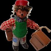 Vintage Steiff Macky Poseable Figure