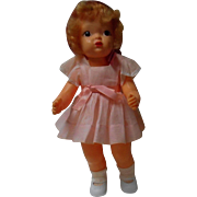 Vintage 16 inch Terri Lee doll in Tagged Party Dress