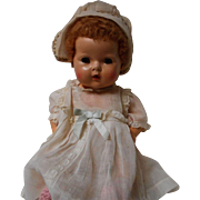 Vintage All Original Dy-dee Baby Doll with Rubber Body
