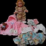 "Vintage Madame Alexander ""Wendy"" Doll with Wardrobe"