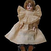 Antique Heubach Koppelsdorf 17 inch Bisque Head and Shoulder Plate Doll