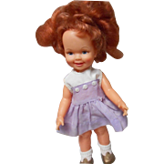 "Vintage Ideal ""Cinnamon"" 12 Inch Gro-Hair Doll"
