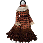 Antique 7 inch Flat Top China Head Doll