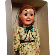 "Vintage ""Hazelle's"" Talking Marionette, Nancy"
