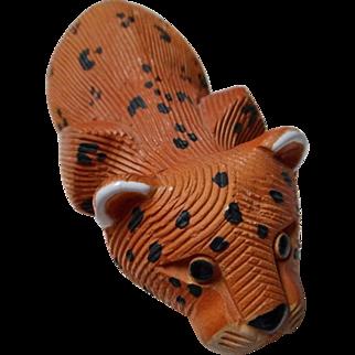 Vintage Artesania Rinconada Leopard