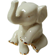 Vintage Porcelain Elephant by Lenox