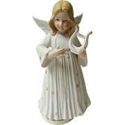Vintage Gorham porcelain Musical Angel
