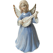 Vintage Porcelain Musical Angel