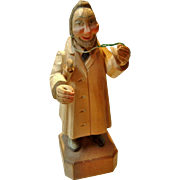 Hand Carved Wooden General Practitioner by Anri