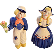Hand Painted Dutch boy and Girl Figures