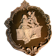 Vintage Jasper Ware Cameo from Germany