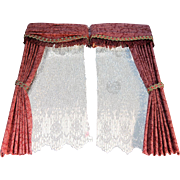 Doll House Drapery Set