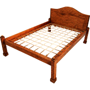 Wooden Doll House Bed