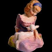 "Vintage Royal Doulton ""Mary had a Little Lamb"", HN 2048"