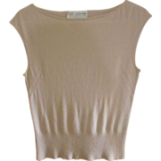 Vintage St.John Sweater, Sm. Pastel
