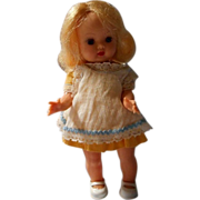 "Nancy Ann Storybook ""Muffie"" Doll, S..LW. with Tagged Outfit"