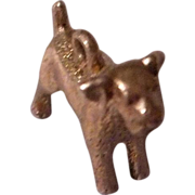 Unmarked Vintage Terrier Dog Charm