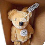 Steiff 3.75 inch Mohair Club Bear, Limited Edition