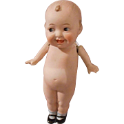 """German All Bisque """"Wide Awake"""" Doll"""
