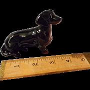 Vintage Beswick Dachshund Porcelain Figurine - Red Tag Sale Item