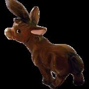 Ceramic Cartoon Donkey, Vintage