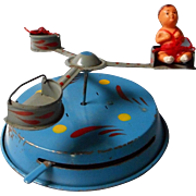 Vintage Tin German Carousel Toy