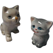 Adorable Porcelain Kitten Figurines