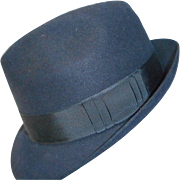 Fantastic Black European Fedora Hat