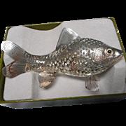 Christofle, Paris Large Reticulated Fish, Luminaire