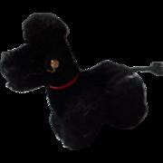 """Steiff Black Mohair Poodle, """"Snobby"""""""