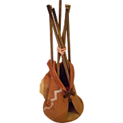 Vintage, Miniature Tepee Souvenir made by Cherokee Indians